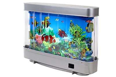 Lightahead Artificial Tropical Fish Aquarium Decorative Lamp Virtual Ocean in A 3