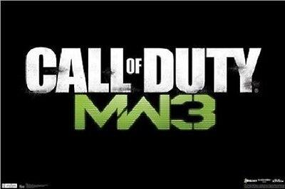Xbox 360 Call Of Duty Modern Warfare 3 Mw3 Video Game 22X34 Poster Free Ship