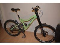 Norco Six 3 Frame + Marzocchi 888 RCV forks (Only)