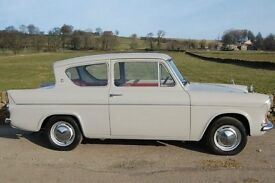 FORD ANGLIA WANTED FORD ANGLIA WANTED 1053E 123E SUPER DELUXE BASE