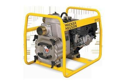 New Wacker PT3H Hatz Diesel Trash Pump