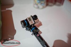 GoPro Hero 3 Black With FeiyuTech G3 Gimbal + Pelican Hard Case
