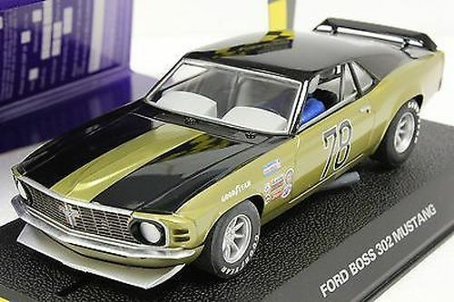 Scalextric 1:32 Ford Boss 302 Mustang #78 Slot Car