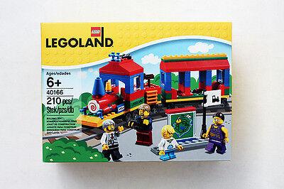 Lego   New 2016 Legoland Train Set 40166   New In Sealed Box