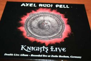 AXEL RUDI PELL Knights live !!!! Live in Bochum 2002 2CD SLEEPCASE - Poznan, Polska - AXEL RUDI PELL Knights live !!!! Live in Bochum 2002 2CD SLEEPCASE - Poznan, Polska