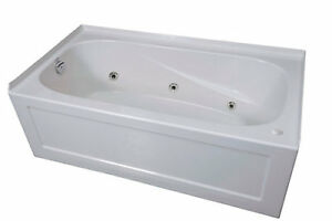 Brand New Jetted Bath Tub for Sale (60 x 30 in) Left