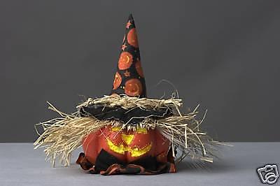 Beleuchteter Kürbiskopf Mr. Magic Dekoration Halloween Dekoleuchte Lampe Leuchte ()