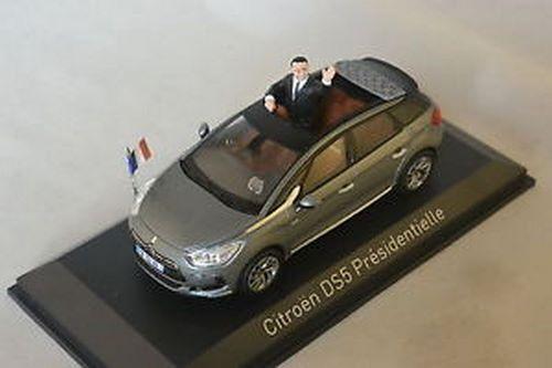 455593 Norev Citroen DS5 Presidentielle 1:43 scale diecast model car - New