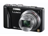 PANASONIC Lumix TZ20 Digital Camera (SILVER) - 3 inch Touchscreen LCD (with nice CASE)