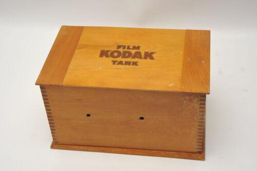"ANTIQUE ""KODAK FILM TANK"" MODEL ""B"" 2  ca.1907"