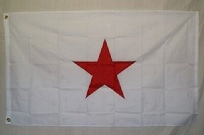 5x8 Embroidered Sewn State of Georgia Secession 600D Nylon Flag 5'x8'