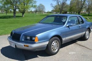 Classic 1985 Ford Thunderbird (Anniversary Edition)