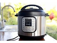 Amazon Bestseller! Instant Pot Duo 7-in-1 Electric Rice/Pressure Cooker, 6 Litre, Steel& Black