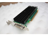 Details about nVidia Quadro NVS 290 256MB PCI Express Dual Display Low Profile Graphics Card