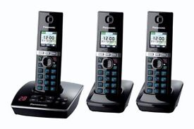 Panasonic Triple Cordless phone handset with answer machine