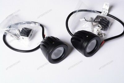 2 BARRE LUCI FARI LED CREE 36W FLOOD COME 320W IP68 LUCE MOTO AUTO FUORISTRADA