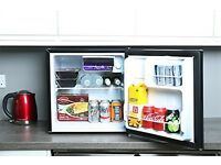 MINI FRIDGE/UNDER COUNTER FRIDGE NEW NEVER USED BEFORE, 48L BLACK, OFFERS WELCOME, COLLECTION ONLY.