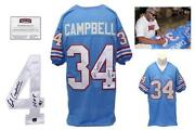 Earl Campbell Autograph