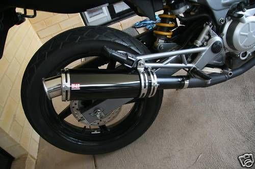 Vtr 250 slip on exhaust