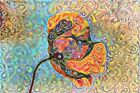 Red Psychedelic Art