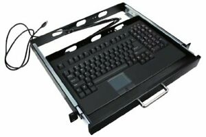 ADESSO 19IN 1U RACKMOUNT KEYBOARD DRAWER BUILT IN TOUCHPAD