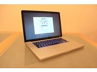 "Apple Macbook Pro 15.4"" Early 2011 Core i7 2.0GHz 8GB RAM 500GB HDD Great Machine"