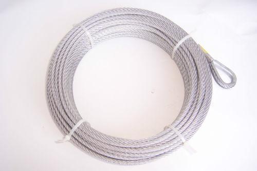 1 4 Wire Rope Galvanized Ebay