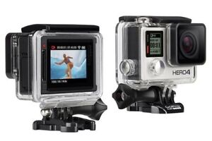 GoPro Hero4 Silver with a ton of accessories/extras