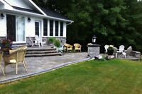 Landscaping stone work & natural stone