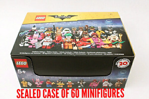 Lego Batman Sealed Case of 60 Collectable Minifigures