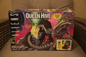 Aliens Queen Hive Kenner action figure play set rare