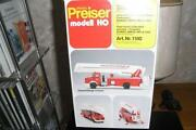Preiser Feuerwehr