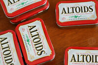 Altoid or other tin containers