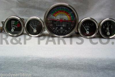 Tachometer Oil Temp Amp Fuel Gauge Set Package For Farmall 240