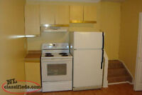 Spacious bright 1 bedroom above ground apartment