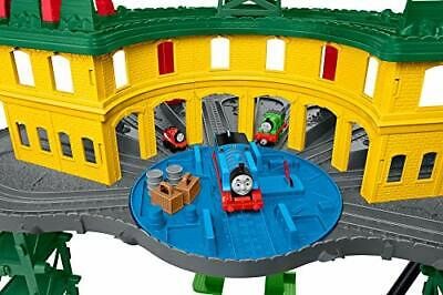 Thomas & Friends Super Station, multi-system train set with over 35 ft of track
