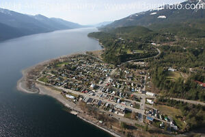 """ KASLO, B.C."" COMMERCIAL / RESIDENTIAL LOT FOR SALE"