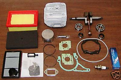 Cylinder Piston Kit Fits Stihl Ts400 Nikasil Kit With Crankshaft