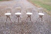Vintage Swivel Bar Stools