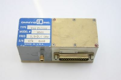 Microwave Rf Yig Filter 1.5-2.6 Ghz  D-to-a Converter