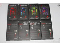 Beats by dre, Monster tour, blue, red and white