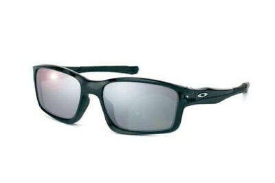 Oakley OO9247-09 Polarized Chainlink Polished Black Iridium Mens Sunglasses
