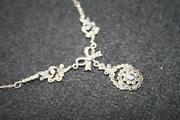 Vintage Silver Marcasite Necklace