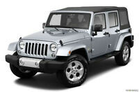 Brand new 2014 Jeep Sahara Soft Top for sale 4 Door