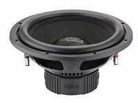 DS18 BD-X154D Bl4ck Di4mond Series 1400 Watts Max 15-Inch Luxury Subwoofer Bass 4+4-Ohms Voice Coil