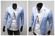 Light Blue Mens Suit