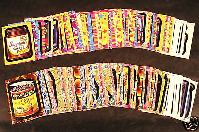 2008 Topps Wacky Packages FLASHBACK Series 1&2 BOTH COMPLETE SETS 144 cards nm+