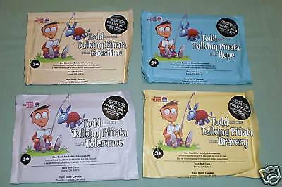 Taco Bell 2009 - Todd & the Talking Pinata Storybooks - Complete Set of 4 - Taco Pinata