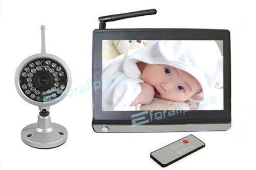 video baby monitor new ebay. Black Bedroom Furniture Sets. Home Design Ideas