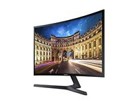 "Samsung 24"" curved smart led tv"
